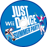 Just Dance Summer Party Wii disc (SJ9E41)