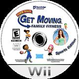 JumpStart Get Moving Family Fitness Wii disc (SJGEPK)