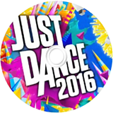 Just Dance 2016 Wii disc (SJNE41)