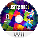Just Dance 2014 Wii disc (SJOE41)