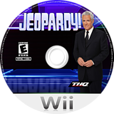 Jeopardy! Wii disc (SJPE78)