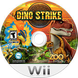 Dino Strike Wii disc (SJUE20)