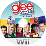 Karaoke Revolution Glee Volume 2 Wii disc (SKGEA4)