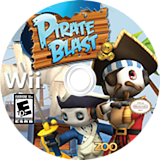 Pirate Blast Wii disc (SKXE20)