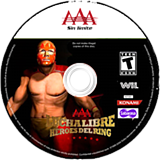 Lucha Libre AAA: Héroes del Ring Wii disc (SLLEWW)