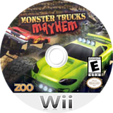 Monster Trucks Mayhem Wii disc (SM4E20)