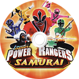 Power Rangers Samurai Wii disc (SM5EAF)