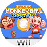 Super Monkey Ball: Step & Roll Wii disc (SMBE8P)