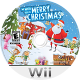 We Wish You a Merry Christmas Wii disc (SMCENR)