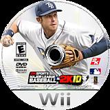 Major League Baseball 2K10 Wii disc (SMLE54)