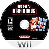 New Super Mario Remake CUSTOM disc (SMNE02)