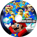 Another Super Mario Bros. Wii CUSTOM disc (SMNE05)