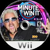 Minute to Win It Wii disc (SMYE20)