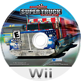Maximum Racing: Super Truck Racer Wii disc (SN7EYG)
