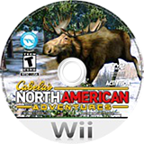 Cabela's North American Adventures 2011 Wii disc (SNAE52)