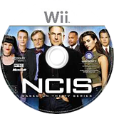 NCIS: The Game Wii disc (SNBE41)
