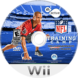 EA Sports Active NFL Training Camp Wii disc (SNFE69)