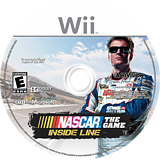 NASCAR The Game: Inside Line Wii disc (SNPE52)
