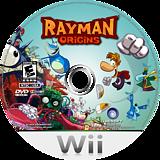 Rayman Origins Wii disc (SOJE41)