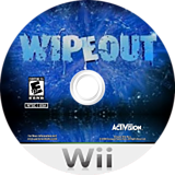 Wipeout: The Game Wii disc (SOTE52)