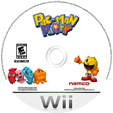Pac-Man Party Wii disc (SP7EAF)