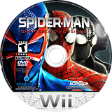 Spider-Man: Shattered Dimensions Wii disc (SPDE52)