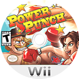 Power Punch Wii disc (SPPEFS)