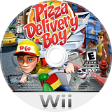 Pizza Delivery Boy Wii disc (SPZE5G)