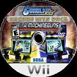 Gunblade NY & LA Machineguns:Arcade Hits Pack Wii disc (SQDE8P)