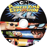 Cartoon Network Punch Time Explosion XL Wii disc (SQLE4Z)