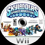 Skylanders: Spyro's Adventure Wii disc (SSPE52)