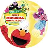 Sesame Street: Elmo's Musical Monsterpiece Wii disc (SSSEWR)
