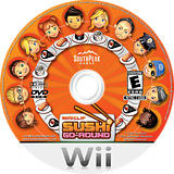 Sushi Go Round Wii disc (SSUES5)
