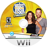 The Biggest Loser Challenge Wii disc (ST6E78)