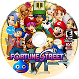 Fortune Street Wii disc (ST7E01)