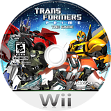 Transformers: Prime Wii disc (STFE52)