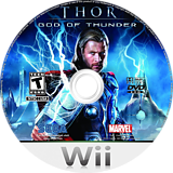 THOR: God of Thunder Wii disc (STHE8P)