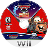 Cars Toon: Mater's Tall Tales Wii disc (STOE4Q)