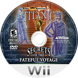 Hidden Mysteries: Titanic Wii disc (STTE52)