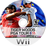 Tiger Woods PGA Tour 11 Wii disc (STWE69)