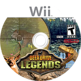 Deer Drive Legends Wii disc (SUNEYG)