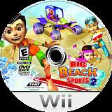 Big Beach Sports 2 Wii disc (SV2E78)