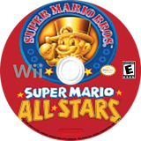 Super Mario All-Stars Wii disc (SVME01)