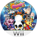 Wicked Monsters Blast! Wii disc (SW9EVN)