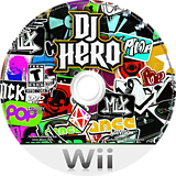 DJ Hero Wii disc (SWAE52)