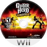 Guitar Hero: World Tour Wii disc (SXAE52)