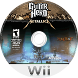Guitar Hero: Metallica Wii disc (SXBE52)