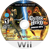 Guitar Hero: Smash Hits Wii disc (SXCE52)