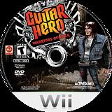 Guitar Hero: Warriors of Rock Wii disc (SXIE52)