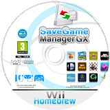 SaveGame Manager GX Homebrew disc (SMGX)